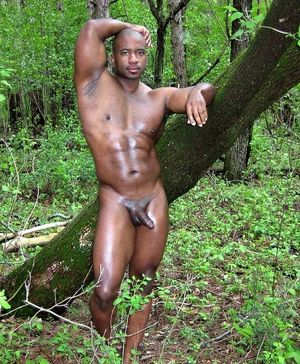 naked straight black men