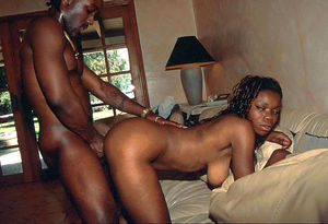 amatuer black threesome