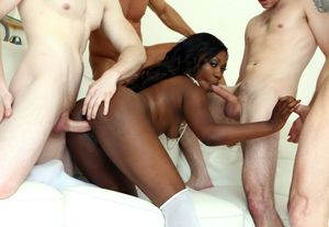 huge black dick gangbang