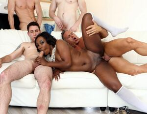 black gangbang videos