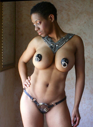 ebony long nipples
