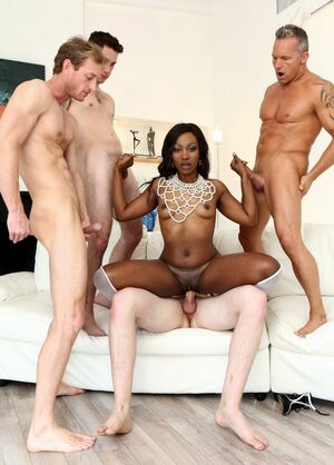 homemade black gangbang