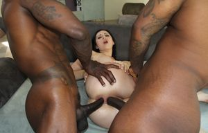 wife black anal