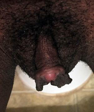 black clit sucking