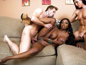 xnxx ebony threesome
