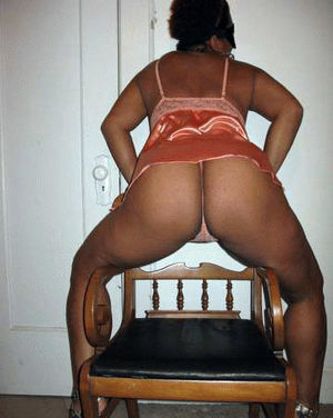 real ebony wife