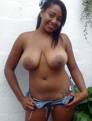 big ebony nipples